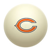 Chicago Bears Cue Ball