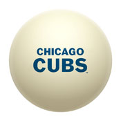 Chicago Cubs Cue Ball