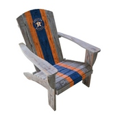 HOUSTON ASTROS WOODEN ADIRONDACK CHAIR