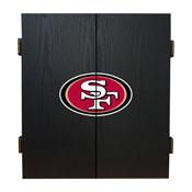 San Francisco 49ers Fan's Choice Dartboard Set