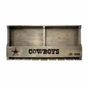 Dallas Cowboys Reclaimed Bar Shelf