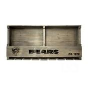 Chicago Bears Reclaimed Bar Shelf