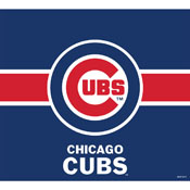 CHICAGO CUBS SINGLE GARAGE DOOR COVER