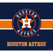 HOUSTON ASTROS SINGLE GARAGE DOOR COVER