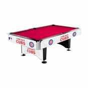 Chicago Cubs 8' Pool Table