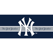 NEW YORK YANKEES DOUBLE GARAGE DOOR COVER