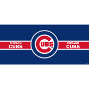 CHICAGO CUBS DOUBLE GARAGE DOOR COVER