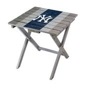 NEW YORK YANKEES FOLDING ADIRONDACK TABLE