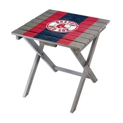 BOSTON RED SOX FOLDING ADIRONDACK TABLE