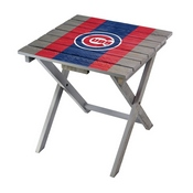 CHICAGO CUBS FOLDING ADIRONDACK TABLE