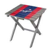 LA DODGERS FOLDING ADIRONDACK TABLE