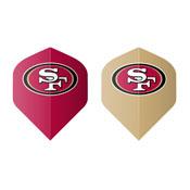 San Francisco 49ers Fan's Choice 10ctpk Dart Flights