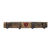 Chicago Bears Oak Coat Rack