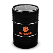 CLEMSON UNIVERSITY BARREL GRILL - BLACK