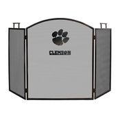 CLEMSON UNIVERSITY FIREPLACE SCREEN