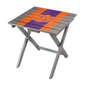 CLEMSON UNIVERSITY ADIRONDACK FOLDING TABLE