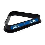 ST. LOUIS BLUES PLASTIC 8 BALL RACK