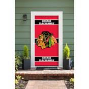 CHICAGO BLACKHAWKS FRONT DOOR COVER