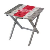 DETROIT RED WINGS FOLDING ADIRONDACK TABLE