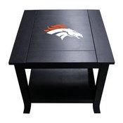 Denver Broncos Side Table