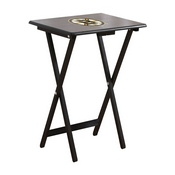 Boston Bruins Tv Trays W/Stand