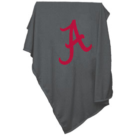 Alabama Charcoal Sweatshirt Blanket