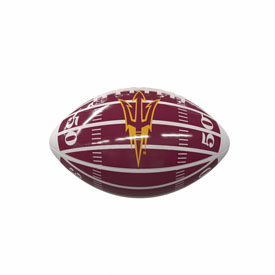 AZ State Field Mini-Size Glossy Football