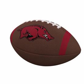 Arkansas Team Stripe Official-Size Composite Football