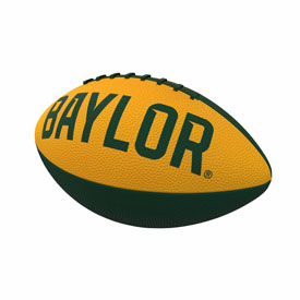 Baylor Repeating Mini-Size Rubber Football
