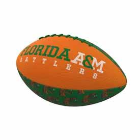 Florida A&M Repeating Mini-Size Rubber Football