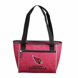 Arizona Cardinals Crosshatch 16 Can Cooler Tote