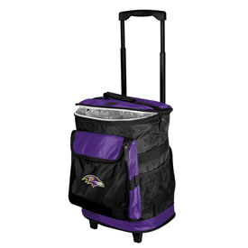 1 Baltimore Ravens Rolling Cooler