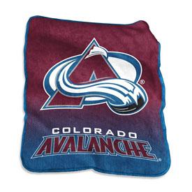 Colorado Avalanche Raschel Throw