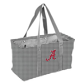 Alabama Houndstooth Picnic Caddy