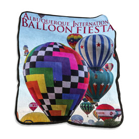 Albuquerque Balloon Fiesta 2017 Rachel Throw