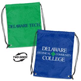 Delaware Tech CC Doubleheader Backsack