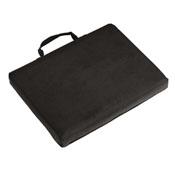 Plain Black Bleacher Cushion