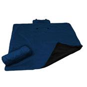 Plain Navy All Weather Blanket