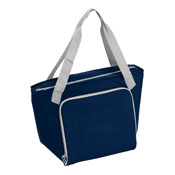 Plain Navy 30 Can Cooler Tote