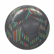 Kids Glitch Soccer Ball