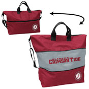Alabama Crosshatch Expandable Tote
