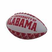 Alabama Repeating Mini-Size Rubber Football