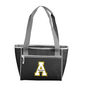Appalachain State Crosshatch 16 Can Cooler Tote
