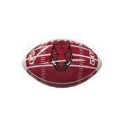 Arkansas Field Mini-Size Glossy Football