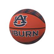 Auburn Repeating Logo Mini-Size Rubber Basketball