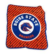 1 Boise State Raschel Throw