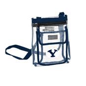 BYU Gameday Clear Crossbody Blue
