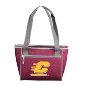 Central Michigan Crosshatch 16 Can Cooler Tote