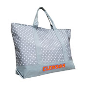 Clemson Dot Tote