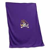 East Carolina Sweatshirt Blanket